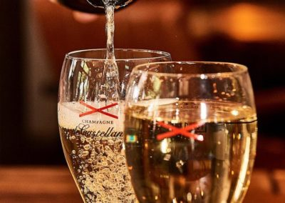 Bubbels bij Bar Bistro Brink20 in Laren